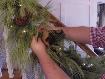[HD] Create a LUSH Christmas garland, in 3 EASY STEPS