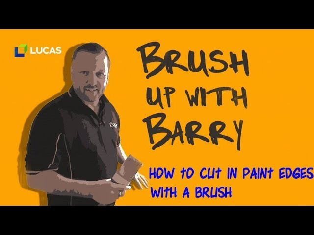 How to Cut in Paint Edges.Trim with a Brush - DIY Home Improvements