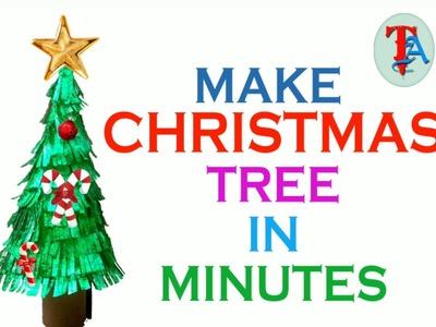 HOW TO MAKE CHRISTMAS TREE ?