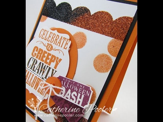 How to use Stampin Up! Adhesive sheets Video Tutorial with Catherine Pooler