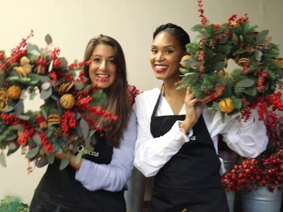 McQueens Flower School: Spend Christmas With Us