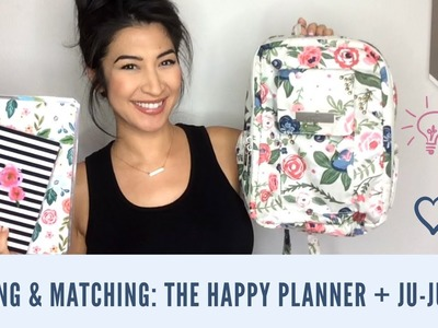 Mixing & Matching: How To Pack The Happy Planner + Ju-Ju-Be!