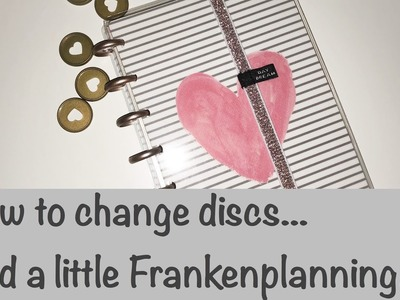 Setting up my Mini Happy Planner & How to Change Discs