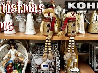 Shop With Me Kohl's Christmas Decor 2017