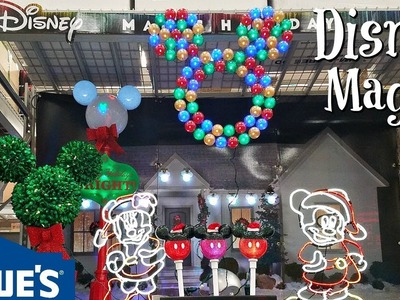 shop with me lowes christmas decorations disney 2017 - Lowes Christmas Decorations 2017