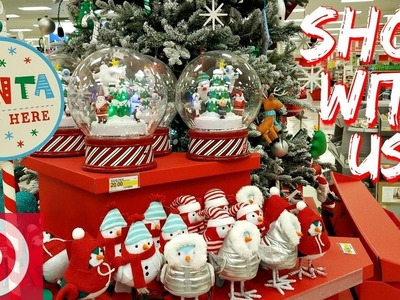 Shop With Me Target Christmas Decorations Prep 2017