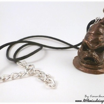 Sorting Hat Polymer Clay Necklace