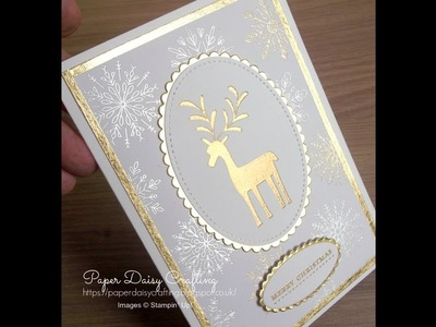 Stampin' Up! Merry Mistletoe.Year of Cheer Christmas card
