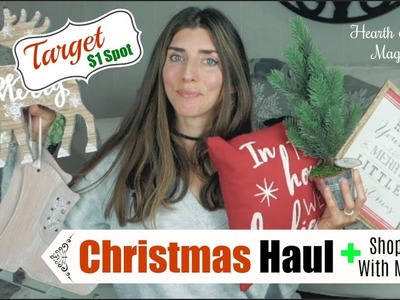 TARGET $1 SPOT HAUL CHRISTMAS Edition  & SHOP WITH ME | Momma from scratch