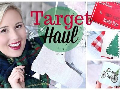 TARGET SHOPPING CHRISTMAS HAUL!! TARGET DOLLAR SPOT GOODIES