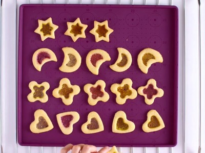Tupperware - Stained Glass Cookies for Christmas