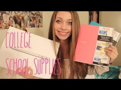Back to School ♡ College School Supplies!