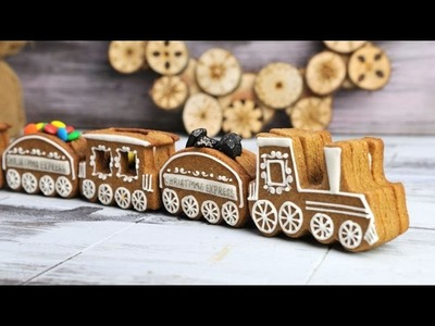 CHRISTMAS 3D COOKIE TRAIN, HANIELA'S