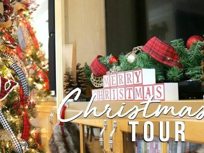 CHRISTMAS HOUSE TOUR 2017   CHRISTMAS FARMHOUSE DECOR ON A BUDGET!!   Page Danielle