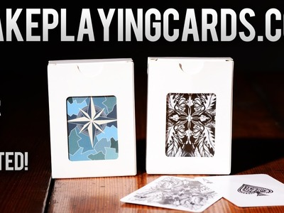Deck Review : MakePlayingCards.com - Make your own deck of cards!