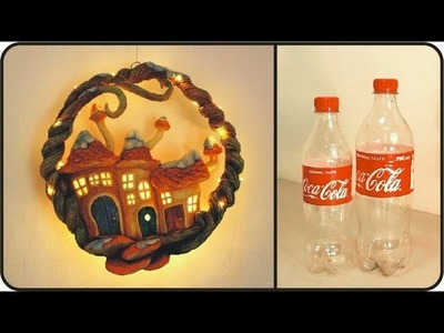 ❣DIY Christmas Wreath Recycling Plastic Bottles❣