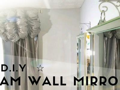 ☆ DIY GLAM WALL  MIRROR ☆
