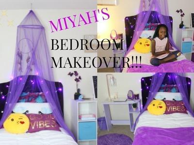 ????Girly Bedroom Makeover!!!! |KIDS BEDROOM MAKEOVER Pt 2| TOUR!!!