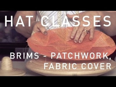 HAT CLASSES - MILLINERY HOW TO CREATIVE BRIMS 4 TRAILER