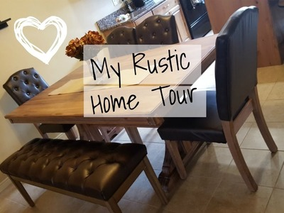 HOME TOUR. TOWNHOUSE - HOW I DECORATE ON A BUDGET