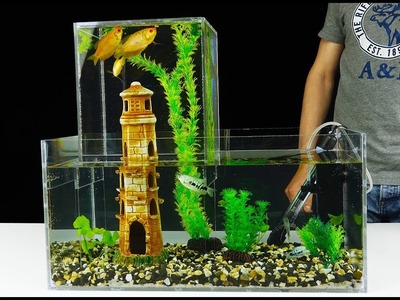 How to Build Unique Multi Level Aquarium v2.0