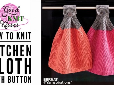 How to Knit: At Your Service Knit Cloth