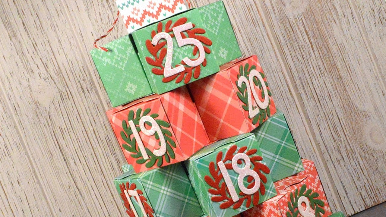 How to make an Christmas Advent calendar