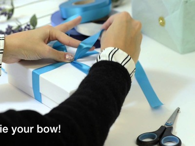 How To Tie A Luxury Bow