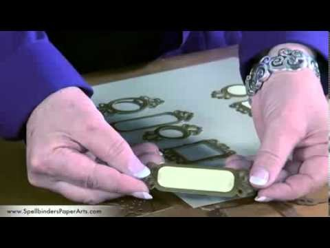 How to Use Spellbinders Fancy Framed Tags