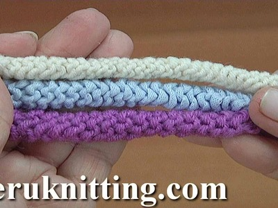 Knitted I-Cord Pattern Tutorial 160
