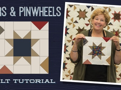 Make a Stars & Pinwheels Quilt with Jenny!