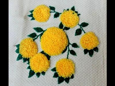 Marigold Stitch Embroidery