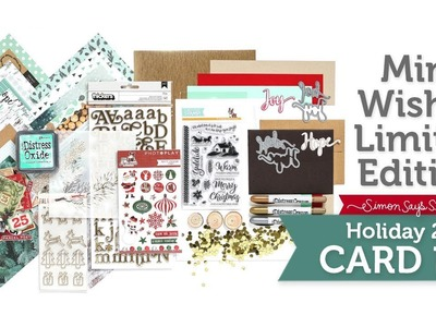Mint Wishes: Simon Says Stamp Limited Edition Holiday Card Kit Reveal and Inspiration