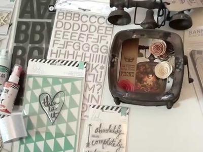New Heidi Swapp, Spellbinders, Memory Box, Penny Black and We R Memory Keepers
