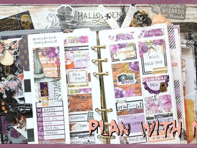 PLAN WITH ME ll WITCHES BREW KIT ll PERSONAL PLANNER