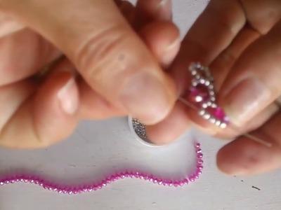 Pulsera de rondeles rosa ????