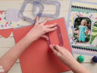 Rectangle Custom Cutting System Patterns by Creative Memories