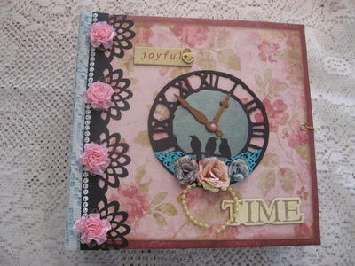 Scrapbook Repositionable Mini Album (based on my tutorial)