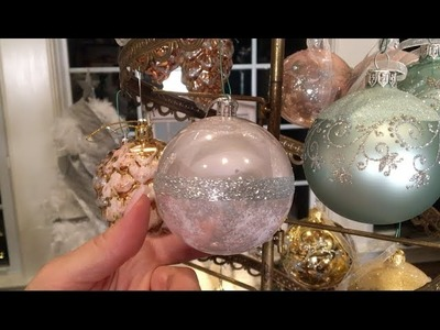 Set of 12 Perfect Pink Glitter Shatterproof Ornaments