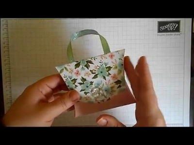 Stamping With Val -  Pillow Box Purse Video
