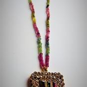 Tourmaline Necklace/ Birthday gift/Handmade necklace