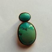 Turquoise Pendant/Birthday gift/Handmade pendant
