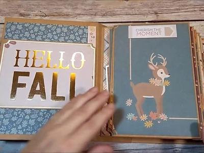 Tutorial For Fall Chunky Mini Album