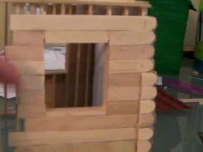 [3.6] How To Build a Popsicle Stick House - Siding