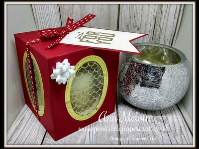 #3 Festive Friday Gorgeous Decorated Candle & Large Gift Box