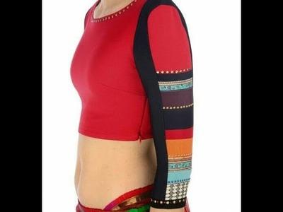 Beautiful Designer Sleeves For Kurtis.Kameez.saree blouse.Dresses  cutting and stiching DIY
