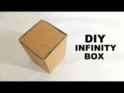Cardboard Infinity Box How to Make Infinity Box