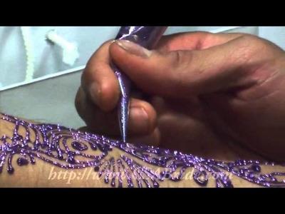 Celebrity Henna Artist Ash Kumar in Action