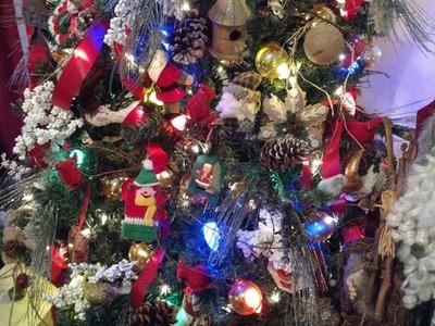 Christmas 2017-Rustic.Woodlands Tree- Part 1 in series 2017