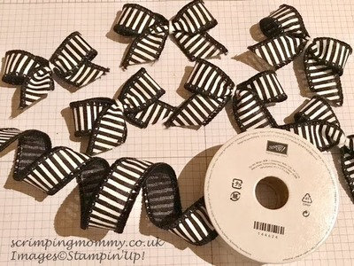 Christmas crafts mini wired bows in minutes